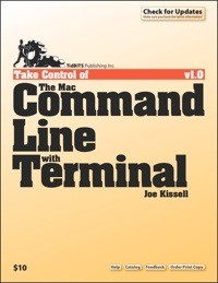 Обложка книги Take Control of the Mac Command Line with Terminal
