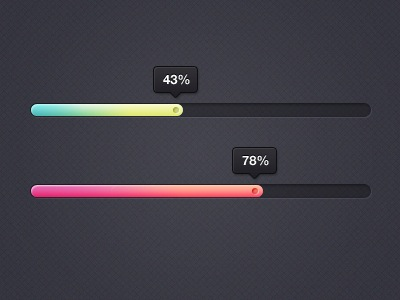 Цветной индикатор загрузки