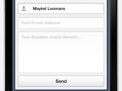 Форма отправки электронной почты