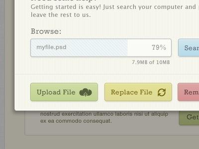 Загрузка файла с ограничением
