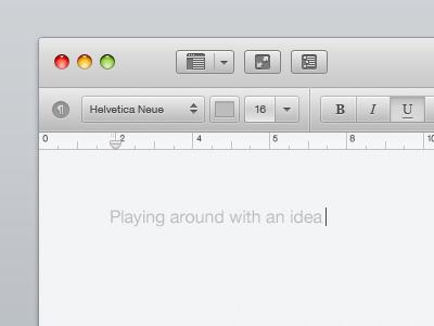 Текстовый редактор для Mac