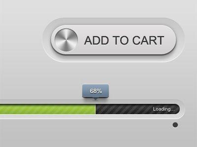 Индикатор и кнопка в стиле Mac OS