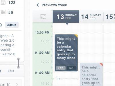 Календарь управления событиями