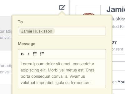 Форма отправки сообщения