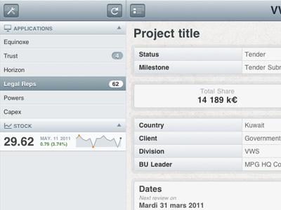 Приложение для управления проектами